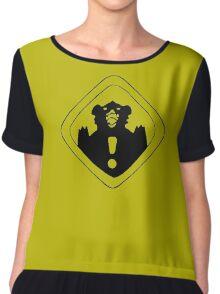 Tenga's Tshirt Chiffon Top