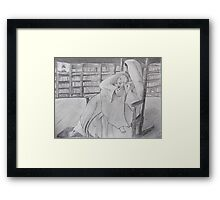 Cradled in His Arms Framed Print