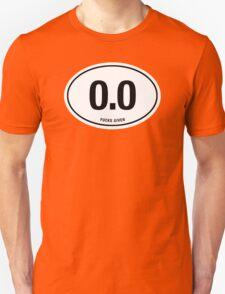 0.0 - NO FUCKS GIVEN T-Shirt