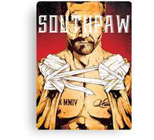 Jake Gyllenhaal - Southpaw Canvas Print