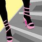 Pink Shoes by Michael Birchmore