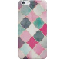 Pretty Abstract Quatrefoil iPhone Case/Skin