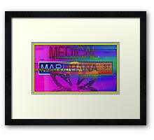 Medical Marijuana Street Framed Print