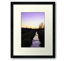 Peaceful Torino Countryside  Framed Print
