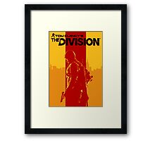 Tom Clancy's The Division Framed Print