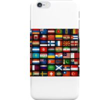 Too many flags! iPhone Case/Skin