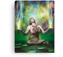 Shakti reaching enlightenment Canvas Print