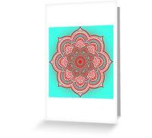 Mandala Lorana China Greeting Card