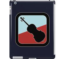 Contrabass Sign iPad Case/Skin
