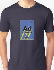 Adamantium Periodic Table - Wolverine T-Shirt