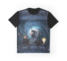 Cyborg Buddha Graphic T-Shirt