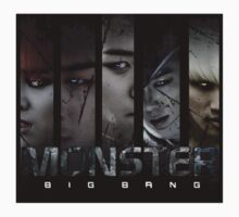 Monster Bigbang Kids Tee