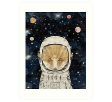 little space fox Art Print
