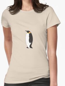 Emperor Penguin Womens Fitted T-Shirt