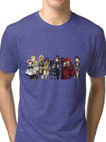 Black Butler Cast Tri-blend T-Shirt