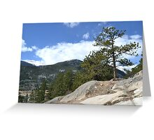 almost at the continental divide Greeting Card