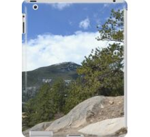 almost at the continental divide iPad Case/Skin