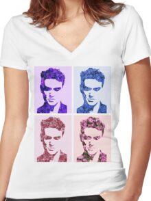 Morrissey Women's Fitted V-Neck T-Shirt
