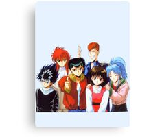 Yu Yu Hakusho group Canvas Print