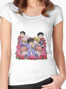 Ouran Highschool Host Club Women's Fitted Scoop T-Shirt