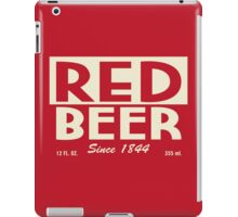 Red Beer iPad Case/Skin