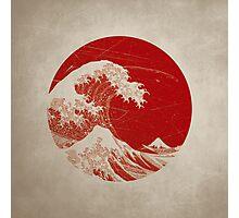 Hokusai - pillow Photographic Print