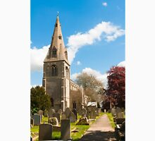 Building, Church, St Peter`s, North Rauceby, Linconshire Unisex T-Shirt