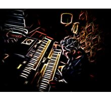 Night Keys Photographic Print