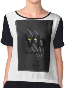 Vibranium Periodic Table - Black Panther Chiffon Top