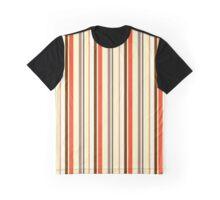 Warm Stripes Graphic T-Shirt