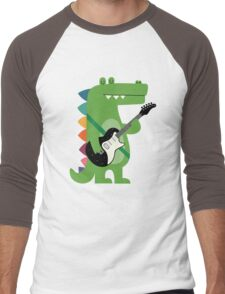 Croco Rock Men's Baseball ¾ T-Shirt