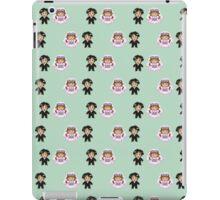 8-bit Bride and Groom Pattern iPad Case/Skin