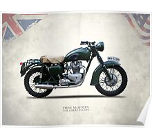 The Great Escape Motorcycle Poster