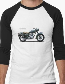 The Great Escape Motorcycle Men's Baseball ¾ T-Shirt