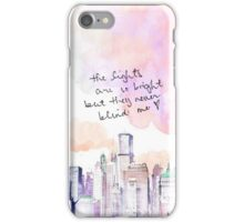 THEY NEVER BLIND ME iPhone Case/Skin