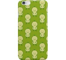 Cute Chick Green Pattern iPhone Case/Skin