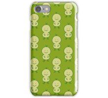 Cute Chick Green Pattern iPhone Case/Skin