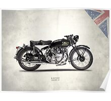 The Vincent HRD Rapide Poster