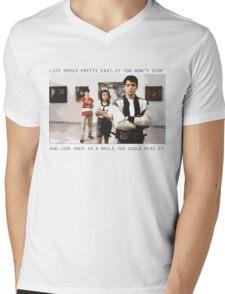 Ferris Bueller Mens V-Neck T-Shirt