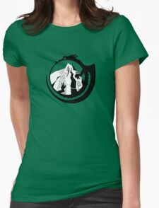 The King Under the Mountain  Womens Fitted T-Shirt
