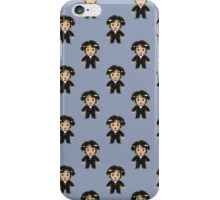 8-bit Groom Pattern iPhone Case/Skin