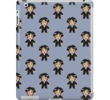 8-bit Groom Pattern iPad Case/Skin