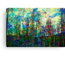 See the Forest for the Fire in the Trees Canvas Print