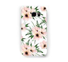 Pink bouquet. Watercolor Samsung Galaxy Case/Skin