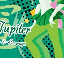 Soldier of Thunder & Courage Sticker