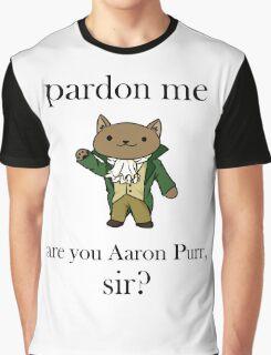 Alexander Hamilcat Graphic T-Shirt