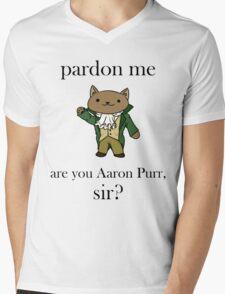 Alexander Hamilcat Mens V-Neck T-Shirt