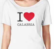 I ♥ CALABRIA Women's Relaxed Fit T-Shirt