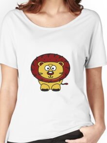 Baby Lion Women's Relaxed Fit T-Shirt