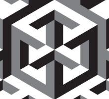 Geometric abstract figure pattern Sticker